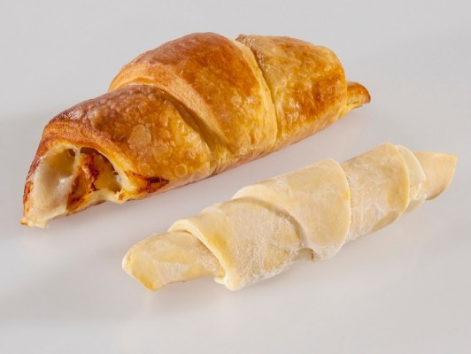 Dairy butter cheese croissants *double slice cheese*