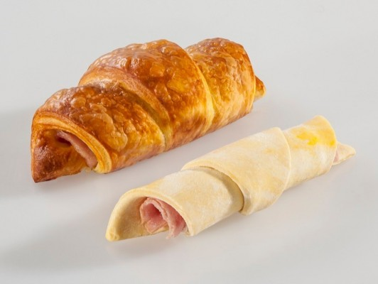 Dairy butter ham/cheese croissants *slice ham/slice cheese*