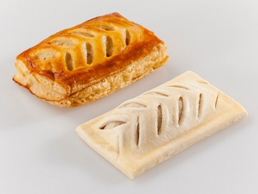 Roomboter ham-asperge broodjes